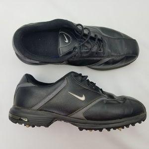 Nike Men's Golf Shoes Size 11.5W Black on Black